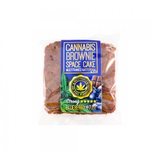 BROWNIE SPACE CAKE BLUEBERRY 100gr – MULTITRANCE AMSTERDAM