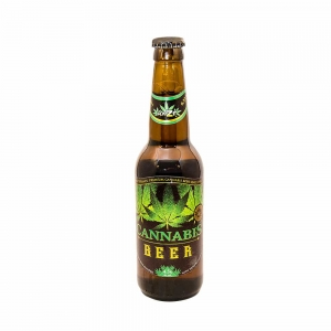Cannabis Green Leaf Beer (330ml) – MULTITRANCE AMSTERDAM