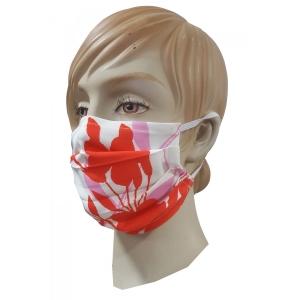 Μάσκα προσώπου με ειδικό ρινικό έλασμα για καλύτερη εφαρμογή Εμπριμέ
