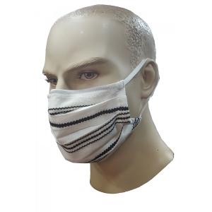 Μάσκα προσώπου με ειδικό ρινικό έλασμα για εφαρμογή εκρού
